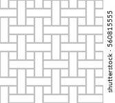 editable seamless geometric... | Shutterstock .eps vector #560815555