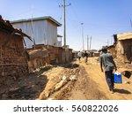 kibera slum kenya   september... | Shutterstock . vector #560822026
