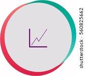 graph  icon. vector design. | Shutterstock .eps vector #560825662