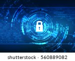 vector abstract background... | Shutterstock .eps vector #560889082