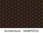 abstract dark geometric pattern ... | Shutterstock . vector #560893522
