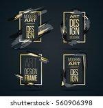 vector frame for text modern... | Shutterstock .eps vector #560906398