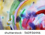 circle abstract colorful... | Shutterstock . vector #560936446