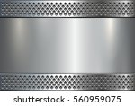 metallic background  metal... | Shutterstock .eps vector #560959075