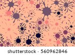 seamless pattern of colored... | Shutterstock .eps vector #560962846