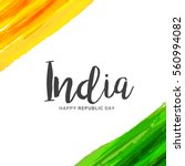 illustration of happy indian... | Shutterstock .eps vector #560994082