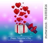 valentine day | Shutterstock .eps vector #561001816