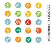 sports icons set.  sport vector    Shutterstock .eps vector #561007132