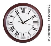 five to two on a round clock | Shutterstock . vector #561040912