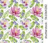 abstract elegance seamless... | Shutterstock . vector #561064282