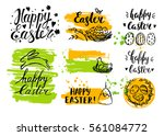vector hand drawn elements and... | Shutterstock .eps vector #561084772