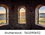 Ancient Arch Windows In A...