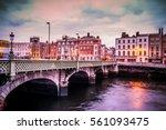 Grattan Bridge Over The River...