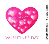 valentines day. vector icon...   Shutterstock .eps vector #561096886