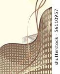 beige abstract background   Shutterstock .eps vector #56110957