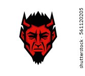 devil head  | Shutterstock .eps vector #561120205