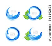 set of vector logo  icon design ... | Shutterstock .eps vector #561142636