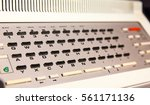 Small photo of Analog computer keyboard