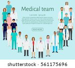Medical Team. Group Doctors ...