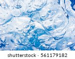 Bubble Abstract Blue Water Gel...