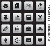 set of 16 education icons....