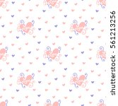 heart background | Shutterstock .eps vector #561213256
