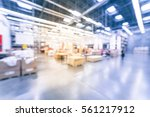 blurred customers shopping in... | Shutterstock . vector #561217912