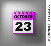 calendar icon  violet. isolated ...