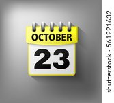 calendar icon  yellow. isolated ...
