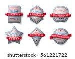 set banner  poster  sticker... | Shutterstock . vector #561221722