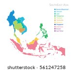 Map Of Southeast Asia With Name
