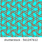 abstract repeat backdrop.... | Shutterstock .eps vector #561247612