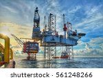 hdr image of offshore... | Shutterstock . vector #561248266