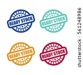 set of ready stock stamp labels | Shutterstock .eps vector #561248986