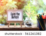 Save The Nature   Concept Of...
