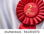 close up view of award ribbon... | Shutterstock . vector #561301072