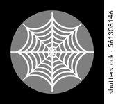 spider on web illustration....   Shutterstock .eps vector #561308146