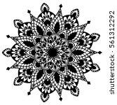 mandalas for coloring book.... | Shutterstock .eps vector #561312292