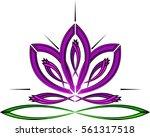 beauty vector flowers design... | Shutterstock .eps vector #561317518