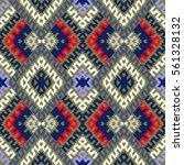 vector seamless pattern ... | Shutterstock .eps vector #561328132