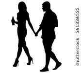 couples man and woman... | Shutterstock .eps vector #561336532