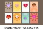 wedding invitation card or... | Shutterstock .eps vector #561359545