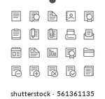 documents pixel outlined...