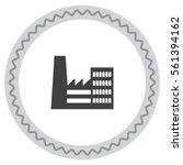 factory vector icon. company... | Shutterstock .eps vector #561394162
