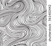 hand drawn seamless pattern.... | Shutterstock .eps vector #561402442