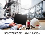 engineering industry concept in ... | Shutterstock . vector #561415462