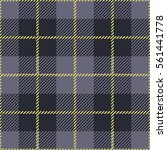 tartan seamless vector patterns ... | Shutterstock .eps vector #561441778