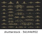 vintage decor elements and... | Shutterstock .eps vector #561446902