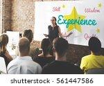 development learning knowledge... | Shutterstock . vector #561447586