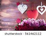 valentines day   Shutterstock . vector #561462112